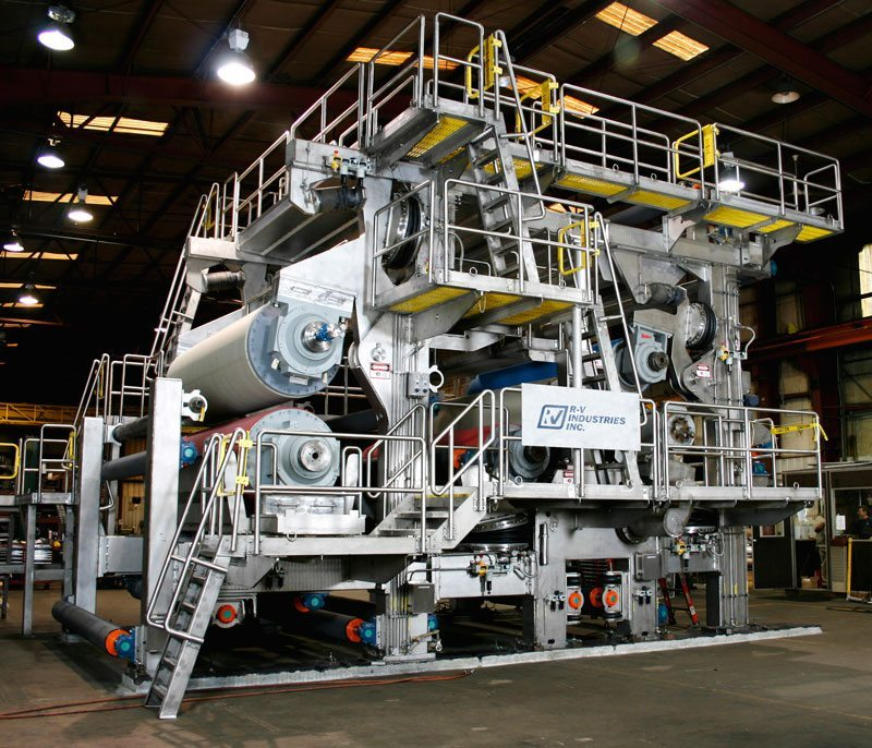 Paper Mill Equipment Manufacturer: R-V Industries, Inc