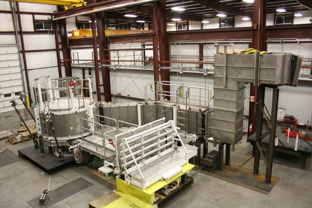 Nuclear Assembly and Ductwork