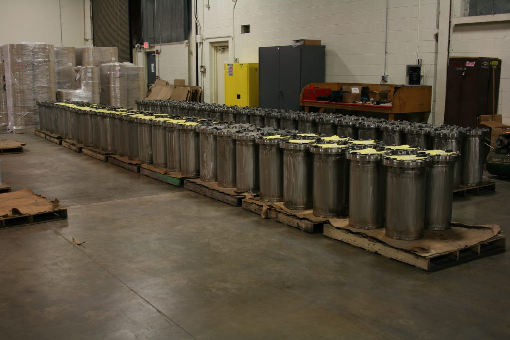 Nuclear Waste Containers