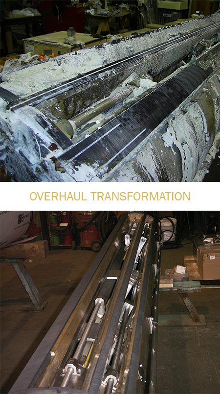 Suction Roll Overhauls