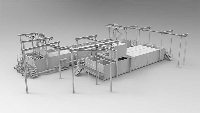 food processing facility