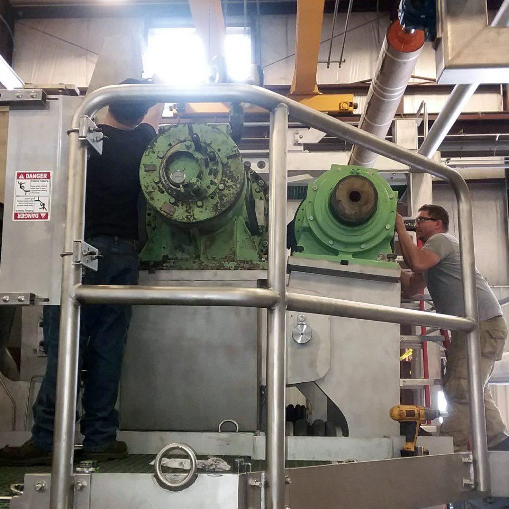 Installation of Customer Existing Rolls